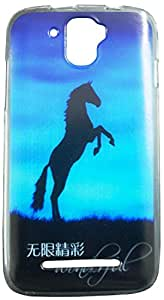 ibnelite IBN211 Printed Back Cover for Micromax Canvas A105