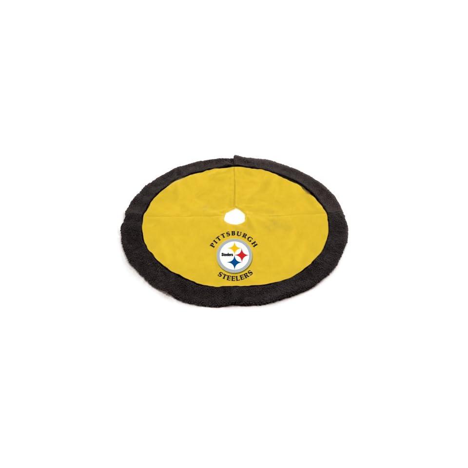 48 NFL Pittsburgh Steelers Logo Christmas Tree Skirt on PopScreen efb6d8fbe