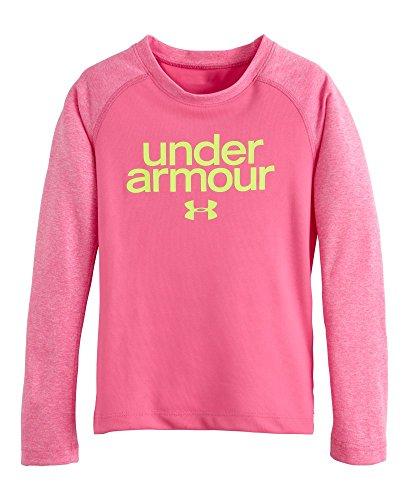 Under Armour Little Girls' Comingle Raglan, Chaos, 4