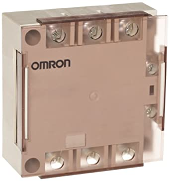 Omron G3PE-225B-2H DC12-24 Solid State Relay for Heaters, Zero Cross Function, Yellow Indicator, Phototriac Coupler Isolation, Triple-Phase, Externally Attached Heat Mounting, 2 Poles, 25 A Rated Load Current, 100 to 240 VAC Rated Load Voltage, 12 to 24 VDC Input Voltage