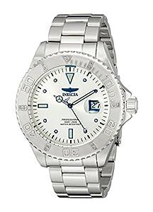 Invicta Men's 12816 Pro Diver Silver Dial Diamond Accented Watch
