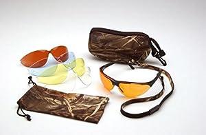 Pyramex Ducks Unlimited Boxed Shooting Eyewear Kit With 5 Anti-Fog Lens Options