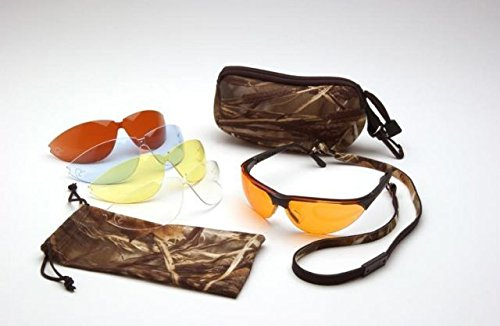 Pyramex Ducks Unlimited Boxed Shooting Eyewear Kit With 5 Anti-Fog Lens Options