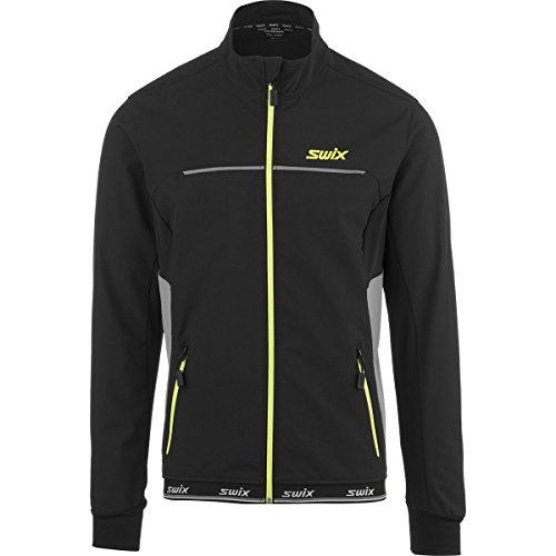 swix-oppdal-softshell-jacket-mens-black-grey-yellow-l