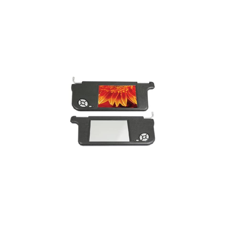 CAR TFT LCD SUNVISOR COLOR MONITOR ABSOLUTE SVC8400MB