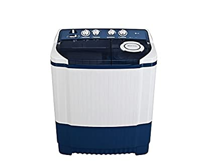 LG P8837R3SM Semi-automatic Washing Machine (7.8 Kg, Dark Blue)