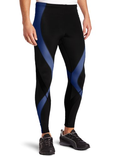 CWX Men's 74678 Pro Tights - Black/Blue Web, X-Large