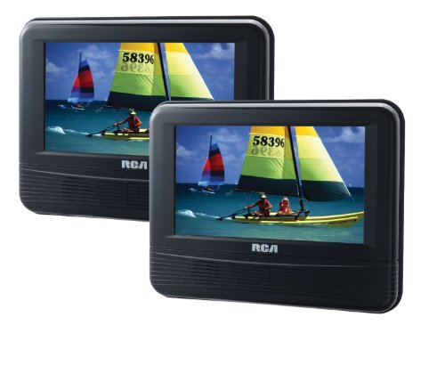 rca-drc69705-7-inch-dual-screen-mobile-dvd-system-certified-refurbished