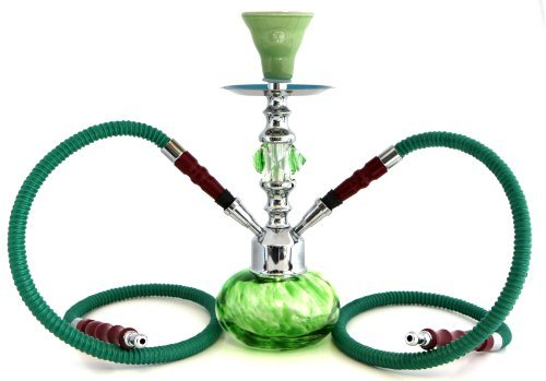 GSTAR-Premium-Series-11-2-Hose-Hookah-Complete-Set-w-Carry-Case-Optional-Swirl-Glass-Vase