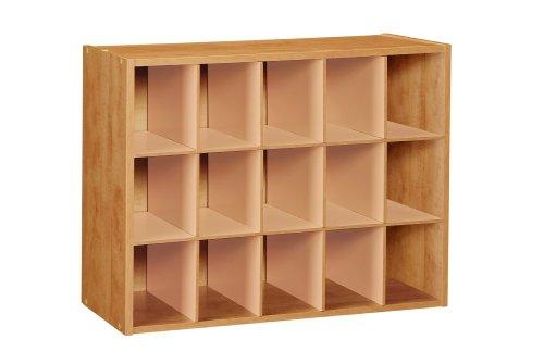 Buy ClosetMaid 896800 15 Cube Laminate Shoe Organizer, Alder Review |  Shelves Wood Cheap