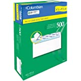 Columbian #10 Business Envelopes, Grip-Seal, Security Tinted, Non-Window, 4.12 x 9.5 Inch, 500 Per Box, White (CO145)