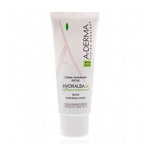 A-Derma Hydralba Rich Hydrating Cream UV SPF20 40ml