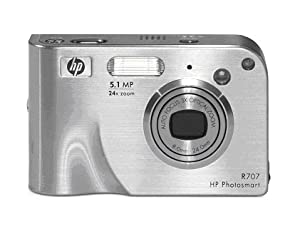 Photosmart R707 digital camera with HP Instant Share by Hewlett Packard Pcdo
