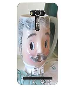 Joe Printed Plastic Back Case for Asus Zenfone 2 Laser 5.5 ZE550KL Mobile ( Multicolor)