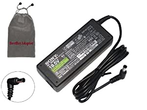 Bundle: 3 items - Adapter/Power Cord/Free Carry Bag:Original SONY VAIO 76W VGP-AC19V19 AC ADAPTER FOR SONY VAIO:VGN-NW120J/W,VGN-NW125J,VGN-NW125J/T,VGN-NW130J,VGN-NW130J/S,VGN-NW130J/T,100% COMPATIBLE WITH P/N:VGP-AC19V27,VGP-AC19V33,VGP-AC19V37