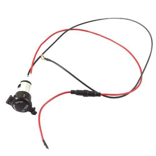 New Motorcycle Cigarette Lighter Power Outlet Plug Socket 12V 120W