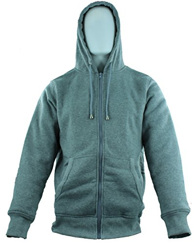 American Legend Outfittersb Fur Hoodie for Men - Grey - Size XXL (American Made Mens Sweaters compare prices)