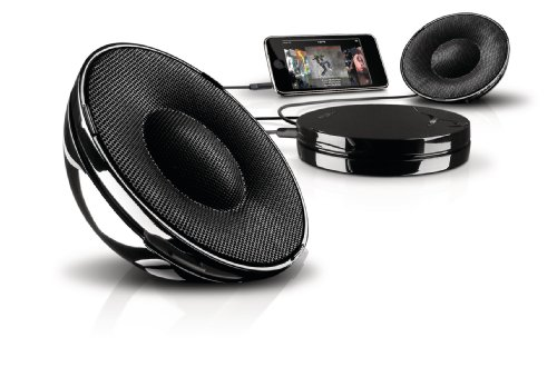Philips SBA1520 Tragbarer Stereo Lautsprecher System für Apple iPod/Philips GoGear
