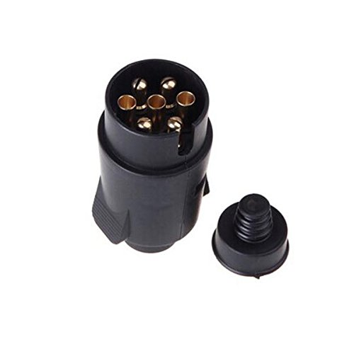 New Tirol Wire Connector 7-Pin 12V Trailer Heavy Plastic Plug Connector by Bcn (Auto Detailing Trailer compare prices)