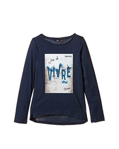 Mexx Camiseta Manga Larga Azul