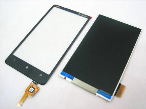 Htc Hd7 Hd 7 T9292 ~ Lcd Screen Display + Touch Screen Digitizer Front Glass Lens Part ~ Mobile Phone Repair Parts Replacement