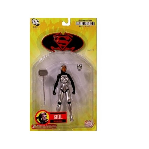 DC Direct: Superman/Batman Series 3 Steel IV (Natasha Irons) Action Figure