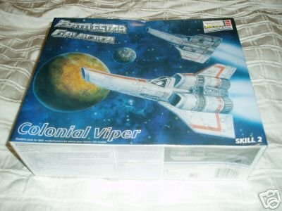Battlestar Galactica Colonial Viper Model Kit