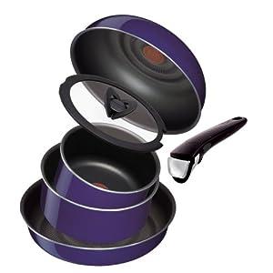 ティファール 鍋 フライパン セット 「インジニオ・ネオ」 取っ手の取れる サファイア セット9 L46693