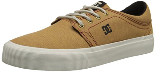 DC Men's Trase TX SE Skate Shoe, Wheat, 9.5 M US