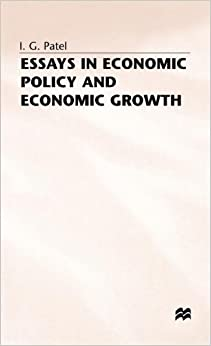 essays about economic growth