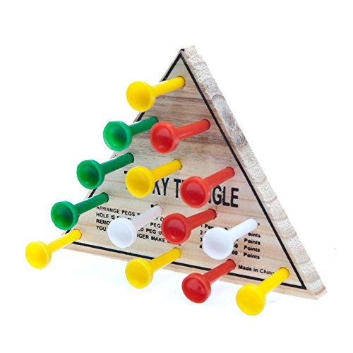 Wooden Tricky Triangle Game - 1