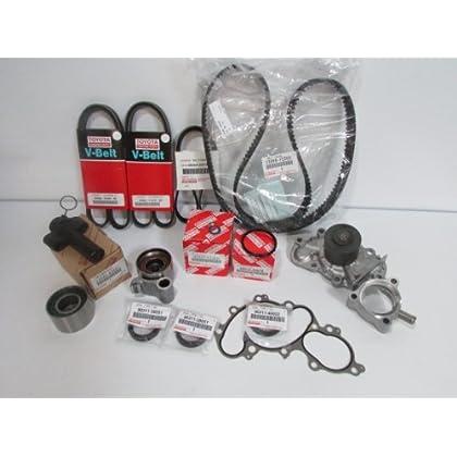 For Toyota Highlander 03-07 Serpentine Belt /& Water Pump Timing KIT