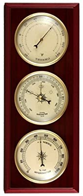 Ambient Weather WS-YG315 Cherry Finish Dial Traditional Weather Station by Ambient Weather