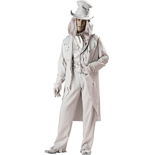 Ghostly Gent Elite Collection Adult - Adult Costumes