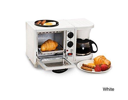 Maxi Matic Versatile 3-In-1 Mini Breakfast Maker-White