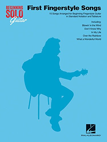 Beginning Solo Guitar: First Fingerstyle Songs