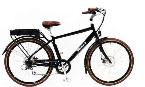 Pedego Classic Commuter - Electric Bicycles (Black, 48 volt 10 amp optional)