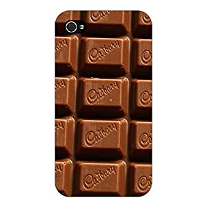 Jugaaduu Dairymilk Love Back Cover Case For Apple iPhone 4