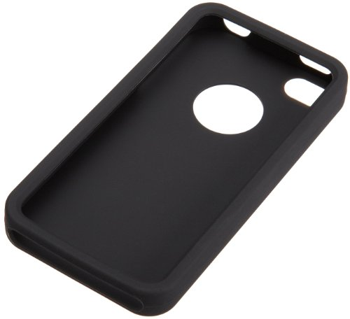 AmazonBasics Silicone Case for AT&T and Verizon iPhone 4 and iPhone 4S (Black)