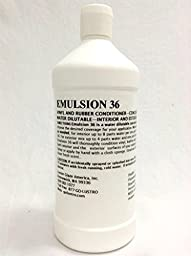 Emulsion Vinyl/Leather/Rubber Dressing -- 32 Oz
