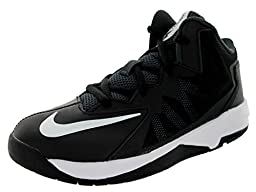 Nike Kids Stutter Step 2 (PS) Black/White/Stealth/Anthracite Basketball Shoe 10.5 Kids US