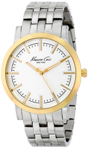 Kenneth Cole New York Three-Hand Stainless Steel - Two-Tone Men's watch #KC9335