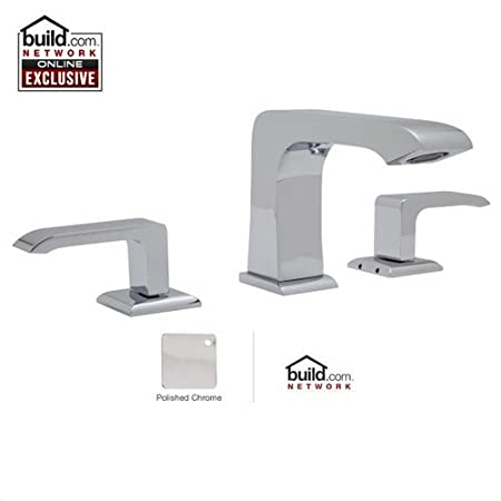 Rohl CA2202LM-2 Caswell Widespread Bathroom Faucet - Free Pop-Up Drain with purc, Polished Chrome
