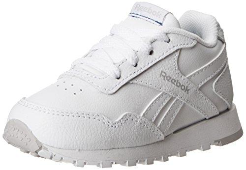 Reebok Royal Glide Shoe (Infant/Toddler/Little Kid/Big Kid),White/Steel,6.5 M Us Toddler front-1002096