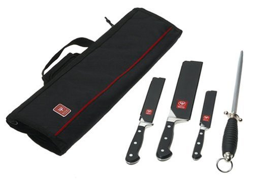 Wusthof Classic 5-Piece Professional Chef's Knife Kit (Chef Wustof compare prices)