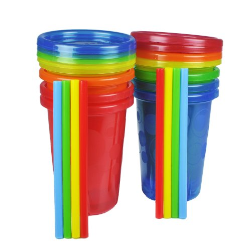 The First Years Straw Cup, Take And Toss, 10 Ounce,, 8-Count front-1028793