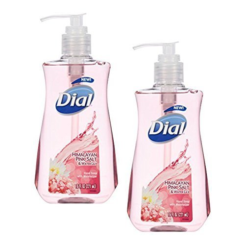 Dial Liquid Soap, Himalayan Pink Salt & Water Lily, 7.5 Ounce (2 Bottles) (Dial Pink Soap compare prices)