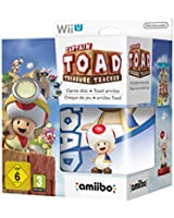 Captain Toad : Treasure Tracker + Amiibo 'Super Mario Bros' - Toad - édition limitée