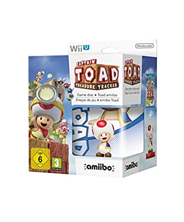 Captian Toad: Treasure Tracker + Amiibo Toad