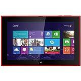 Nokia Lumia 2520 PC-Tablet (25,7 cm (10,1 Zoll) Full-HD-Display, 6,7 Megapixel Kamera, Quad-Core-Prozessor, 2.2GHz, 2GB RAM, Micro-SIM, Win RT 8.1) rot